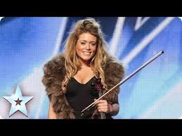 Blind Violinist Famous Posh Violinist Lettice Rowbotham Gives The Judges Something New