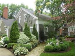 Evergreen Landscaping Ideas Curb Appeal Landscaping Ideas For A House With Flat Roof Midcityeast