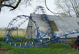 roller coaster for backyard a backyard rollercoast that will blow your mind diy projects craft
