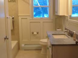 Wainscoting Shaker Style Bathrooms Riverside Cabinets Inc