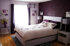 purple and grey bedroom decor