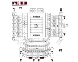 kyle map kyle field seating chart 2016 socialmediaworks co