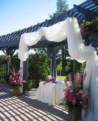 Wedding Arches Using Tulle Decorating Arches With Tulle Beautiful Decorating With Tulle