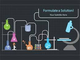 chemistry wave a powerpoint template from presentermedia com