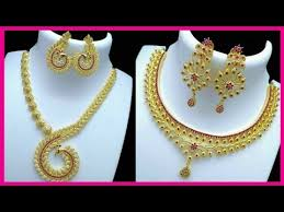 gold jewellery necklace sets images One gram gold jewellery set collections one gram gold jewellerys jpg