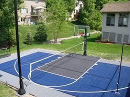 Backyard Sport Courts Triyae Com U003d Asphalt Basketball Court In Backyard Various Design