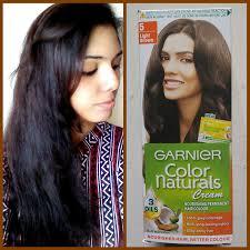 Light Brown Color Garnier Color Naturals Cream Hair Color No 5 Light Brown Review