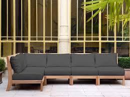 canapé mobilier de mobilier de jardin design tectona canapé jardin bois