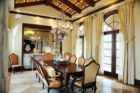 Glass Shade Chandelier Dining Room Luxury Classic Dining Room With Luxury Glass Shade