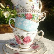vintage china garden party details on a budget vintage china tea cup