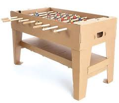 Regulation Foosball Table Cardboard Kartoni Foosball Table Might Just Save Your Marriage One Day