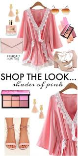 frugal fashion friday shades of pink outift