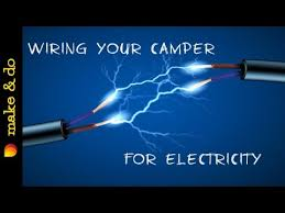 cargo trailer camper conversion wiring the electrical youtube