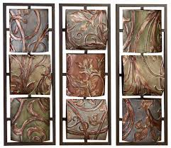decorative metal wall art panels photos on luxury home interior
