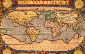World Map Antique by Maps World Map Antique