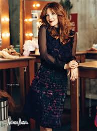drew barrymore for neiman marcus