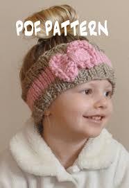 knitted headband pattern knitting pattern the bo peep headband toddler knit ear warmer