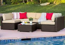 top 10 best outdoor wicker sofa set reviews in 2018