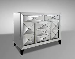 elegant modern mirrored nightstands marvelous home decor ideas