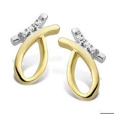 stylish gold earrings stylish gold earrings with diamonds by sparkles t6185 gold