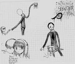 the true story of slenderman sketches by yharuhasaiko on deviantart