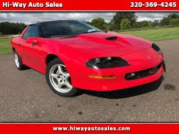1996 camaro ss for sale used cars for sale pease mn 56363 hi way auto sales