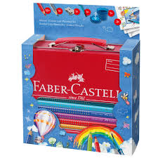 faber castell jumbo grip colouring and painting set cult pens