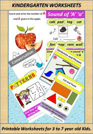 printable 187 worksheets for 3 to 7 yr old kids