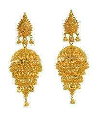 gold earrings for marriage 22 best jhumka images on indian jewelry jewellery