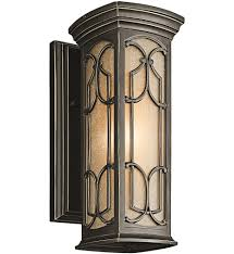 Kichler Outdoor Wall Sconce Kichler 49226ozled Franceasi Olde Bronze 14 5 Inch 1 Light Led