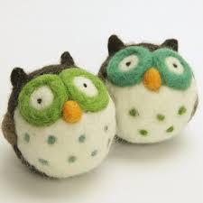 amazon com woolbuddy needle felting kit owl u2013 arts and crafts
