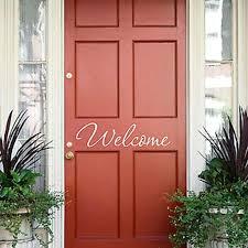 front door vinyl numbers good coloring welcome decal wall decals
