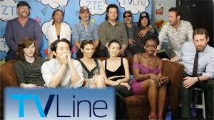 New Walking Dead Cast 2016 | the walking dead interview tvline studio presented by zte comic