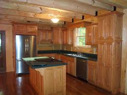 Kitchen Pictures With Oak Cabinets Log Home Kitchens Beautiful Custom Oak Kitchen With Solid