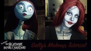 cool halloween makeup tutorial the nightmare before christmas