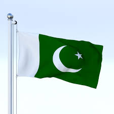 Photo Editor Pakistan Flag Animated Pakistan Flag 3d Model