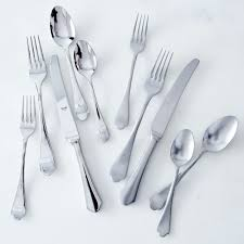 How To Set Silverware On Table Italian Flatware Dolce Vita 5 Piece Set Flatware