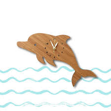 dolphin home decor dolphin wall clock with numbers fun home decor nursery