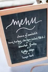 brunch wedding menu greer brunch wedding ideas chalkboard menu inspiration