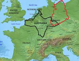 map of germany in europe eastern germany manorialism and yes the hajnal line