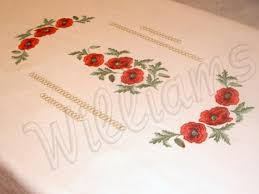 Tablecloth Embroidery Pattern Table Reviews - Table cloth design