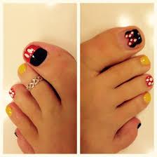 disney pedicure nails pinterest pedicures disney nails and