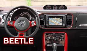 pink car interior 2017 volkswagen beetle interior youtube