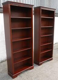 Mahogany Effect Bookcase Bookcases Ideas Amazing Mahogany Bookcase For Livingroom Solid