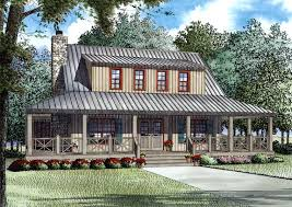 country home with wrap around porch house plan 82167 at familyhomeplans com