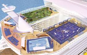Allure Of The Seas Floor Plan Oasis Of The Seas World U0027s Largest Cruise Ship Squeezes Under