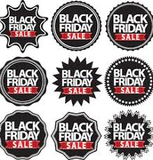black friday sale signs black friday big sale alarm clock icon with red vector image