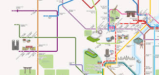 Tokyo Subway Map by Tokyo Sightseeing On The Toei Bus Tokyo To Koutsukyoku
