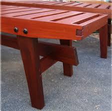 Ipe Bench Hicks Woodworking Ipe Deck Bench