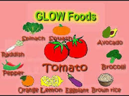 and glow go grow glow foods